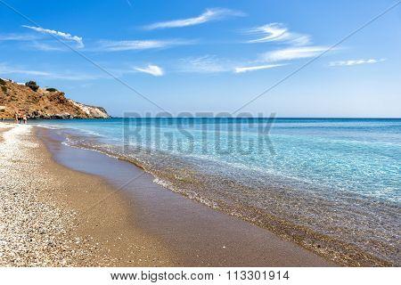Palaiochori Beach, Milos Island, Cyclades, Greece