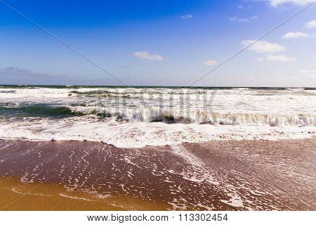 Florida Atlantic Sea Waves Landscape