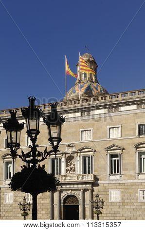 Palau de la Generalitat, Government office, Barcelona poster