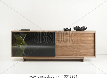 NEW FURNITURE LINE , MODERN DESIGN,  STRAIGHT LINES , MATERIALS : WOOD, LIVING ROOM DRESSER