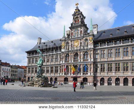 City Hall In Antwerp, Belgium