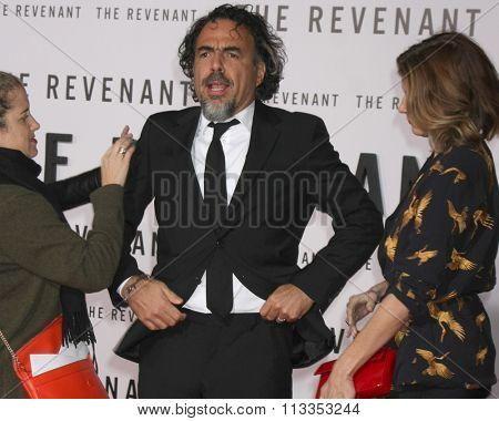 LOS ANGELES - DEC 16:  Alejandro Gonzalez Inarritu at the
