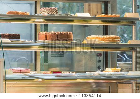 Cake In A Glass Case