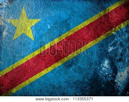 Democratic Republic of the Congo Grunge
