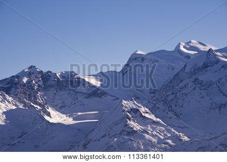 Grand Combin And Glacier