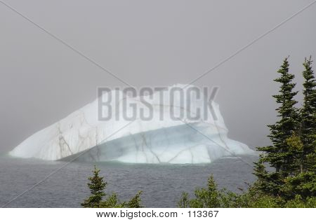 Iceberg In The Mist