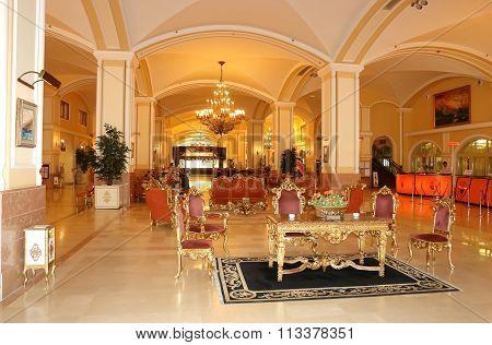 Interior Of New Hotel.