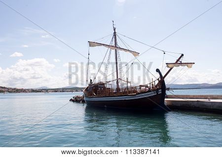 One Beautiful Sailing-ship