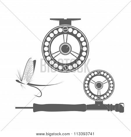 Fishing reel icons