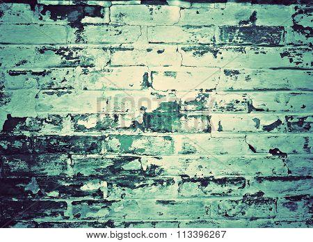 Retro mint wall