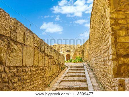 Walking In Kasbah