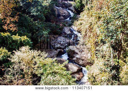 Landscape Waterfall Thailand