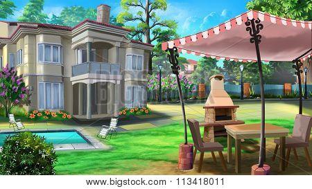 Vacation home, private house, villa