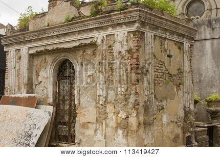 Tomb In Disrepair, Recoleta Cemetery, Buenos Aires, Argentina