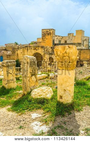The Archaeological Sites Of El Kef