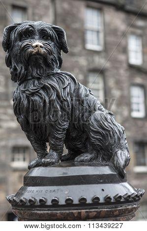 Greyfriars Bobby In Edinburgh