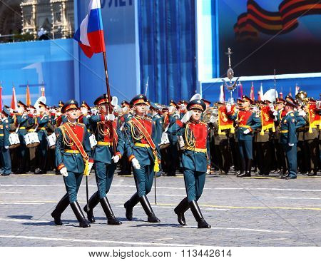Ceremonial March Of Troops