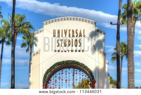 Universal Studios Of Hollywood Entrance