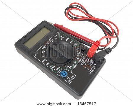 Black Color Digital Multimeter