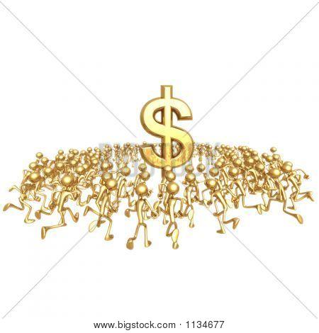 Running Towards Dollar