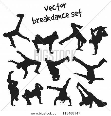 Set Of Break Dancers
