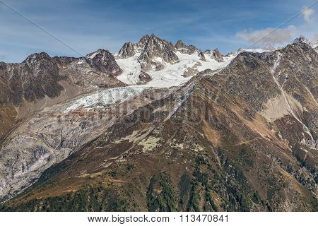 Alps Mountain Range During Summer Day - France