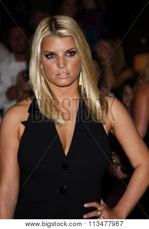 Jessica Simpson at the Operation Smile's 8th Annual Smile Gala held at the Beverly Hilton Hotel in Beverly Hill, California, United States on October 2, 2009.