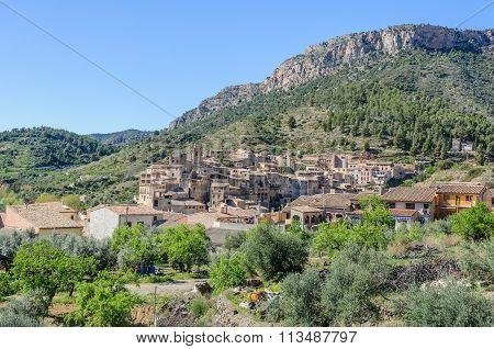 View Of Viella Baixa, Spain