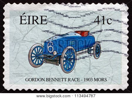 Postage Stamp Ireland 2003 Race Map And Napier