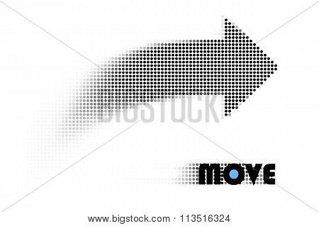 move arrow concept