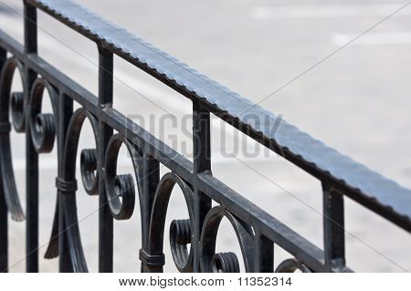 Old Iron Banister