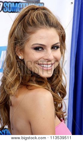 Maria Menounos at the 2012 Do Something Awards held at the Barker Hangar in Los Angeles, USA on August 19, 2012.