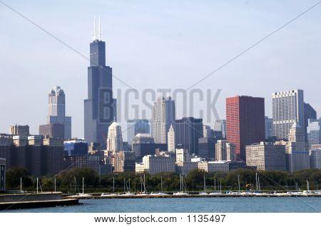 Skyline Of Chicago Soc03