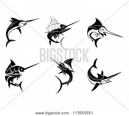 Tattoo Symbol Of Marlin Fish