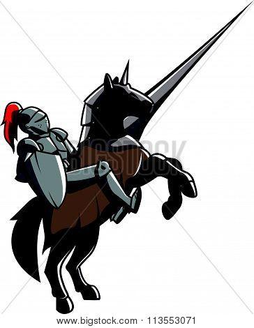 Knights design vector illustration .eps10 editable vector illustration design