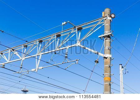 Railway electrification system.