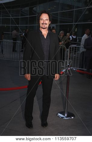 HOLLYWOOD, CALIFORNIA - August 30, 2011. Kim Coates at the Season 4 premiere of FX Network's