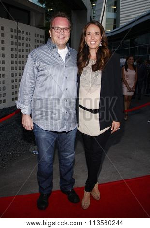 HOLLYWOOD, CALIFORNIA - August 30, 2011. Tom Arnold at the Season 4 premiere of FX Network's