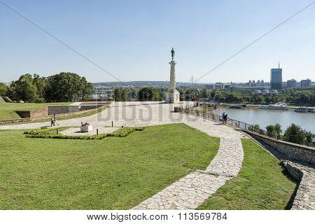 Kalemegdan Park, Belgrade Fortress, Serbia