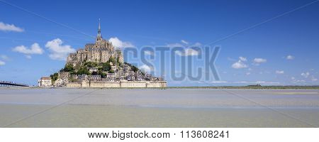 Panoramic View Of Mont-saint-michel