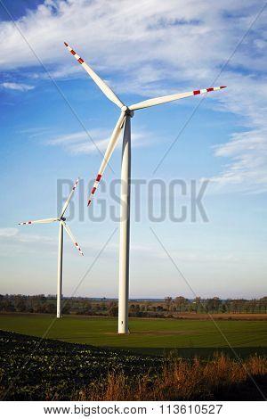 Windmills in Poland