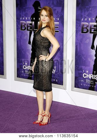 Debby Ryan at the World Premiere of