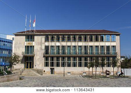 Bavarian Ministry Of State In Nuremberg, Germany, 2015
