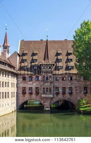 Heilig Geist Spital In Nuremberg, Germany, 2015