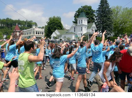 Young Americans in 4th of July Parade