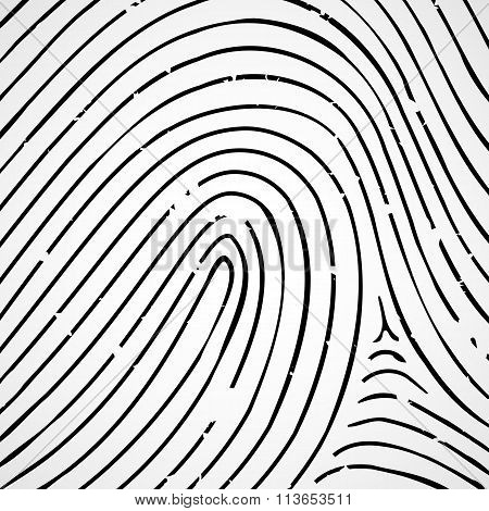 Imprint A Human Finger