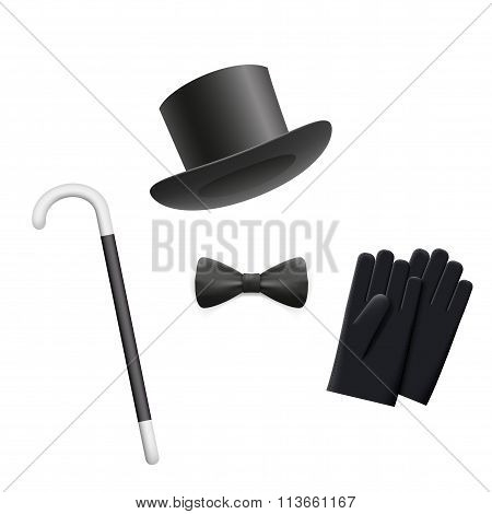 Gentleman. Stock Illustration.