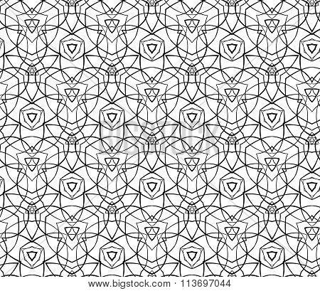 Geometric Ornament. Stock Illustration.