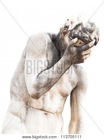 Male Nude In Sculpture