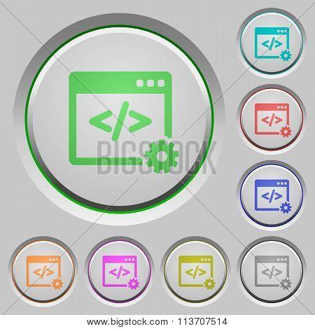 Web Development Push Buttons